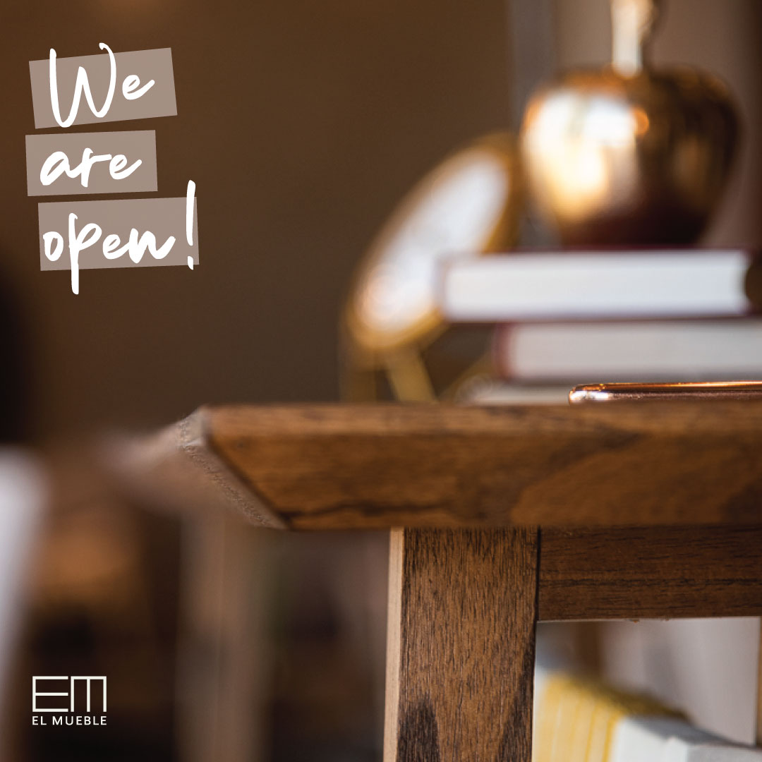 EM - we are open