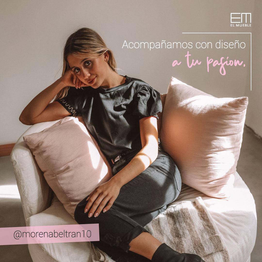 Bienvenida Morena Beltrán a El Mueble