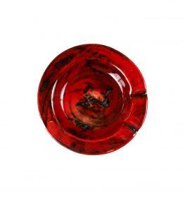 Cenicero rojo