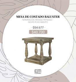 Mesa de costado Baluster SALE - EL MUEBLE