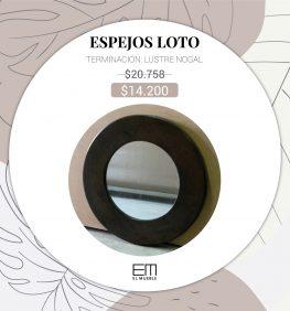 Espejo Loto SALE - EL MUEBLE